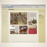 Apparel Website: Homepage