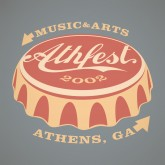 Tee-Shirt Screen Print Design: for Athfest Music Festival