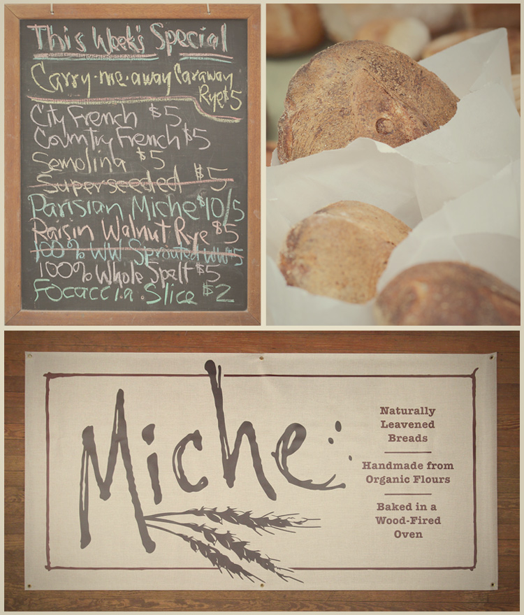 Miche Bread Banner