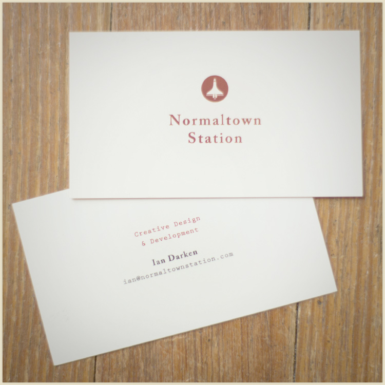Nts Business Card Design Ii